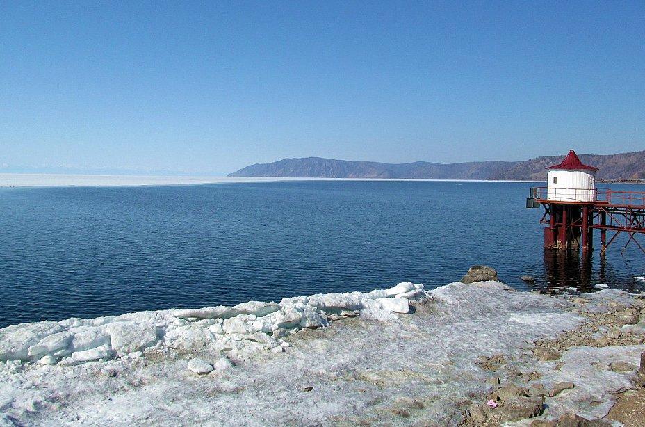 Байкал, Приморский хребет, апрель 2013